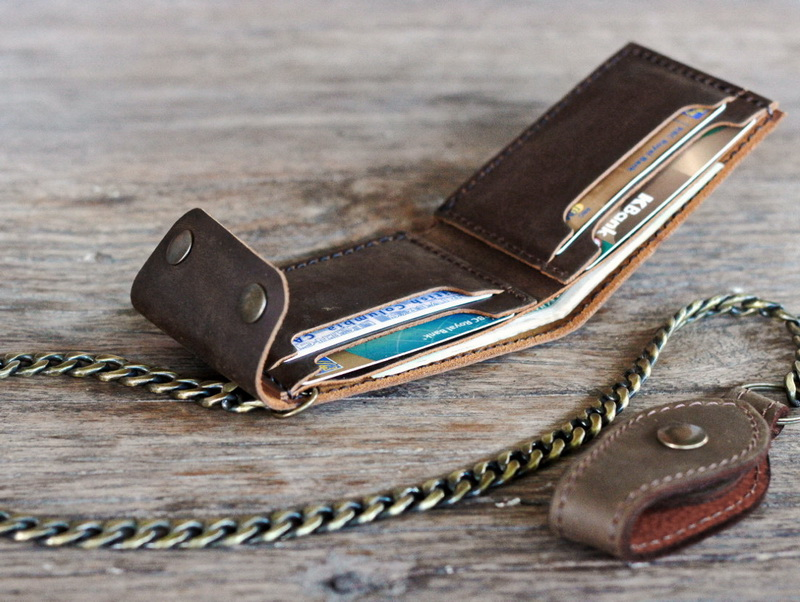 Chain Wallets for Bikers