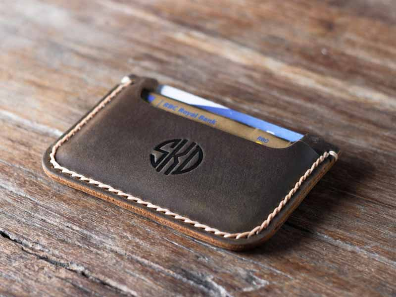 Men's Slim Wallet Front Pocket Wallet 039P