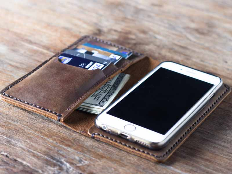 iPhone 6 Leather Case Wallet 055