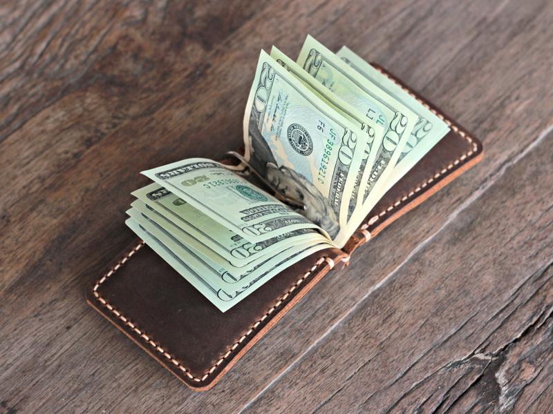 Money Clip Men S Travel Wallet Gifts For Men