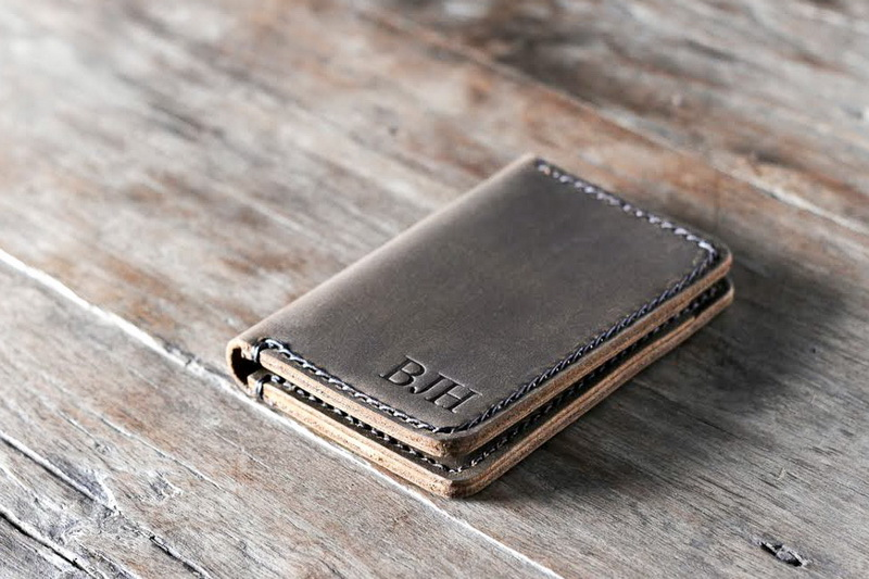 Personalized Front Pocket Credit Card Holder Wallet