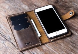 iPhone 7 Personalized Leather Case