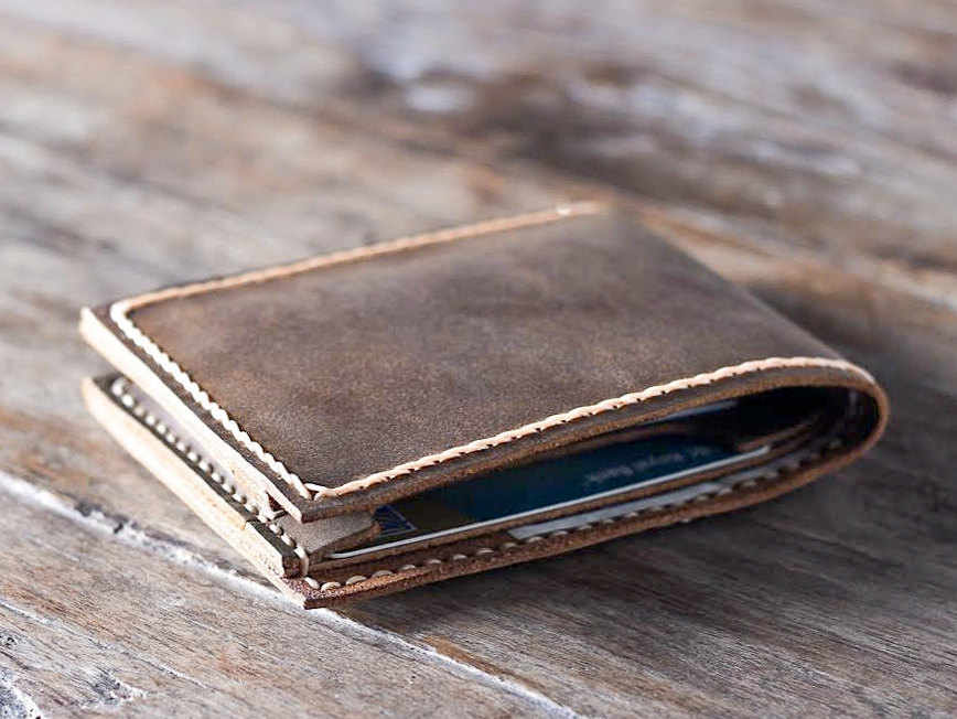 Handmade Leather Wallet Best Groomsmen Gifts Gifts For Men