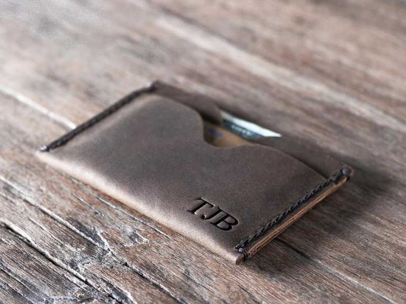 b88c21d95691 Top-Grade Personalized Credit Card Holder Wallet - Gifts For Men
