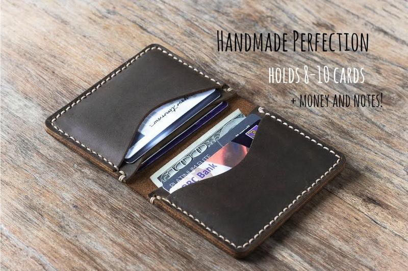 credit card leather wallet credit card holder - Leather Credit Card Holder