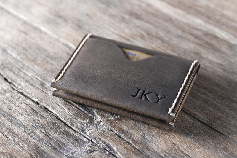 High Grade Minimalistic Leather Credit Card Holder Wallet ...