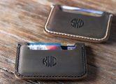 Leather Front Pocket Wallet