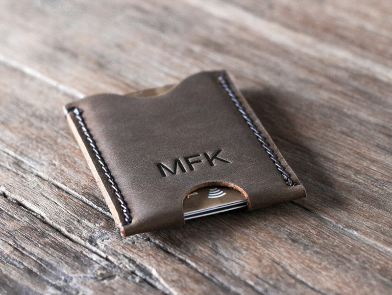 Men\'s Credit Card Holder Personalized Gifts For Him - Gifts For Men