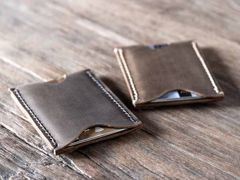 Men\'s Leather Card Holder Wallet - Gifts For Men