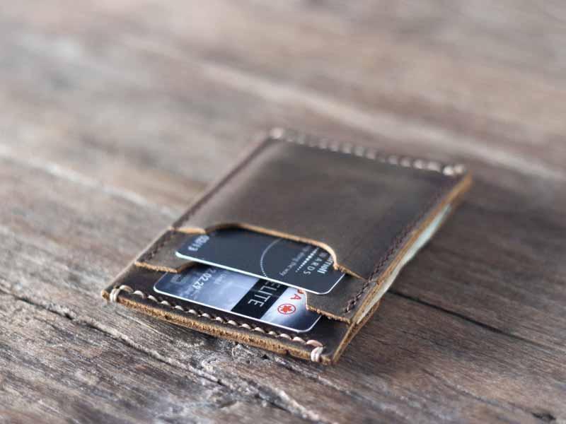 Personalized Minimalist Men S Slim Wallet Gifts For Men