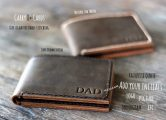 Men's leather Bifold Wallets
