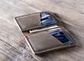 Mens Slim Credit Card Wallet