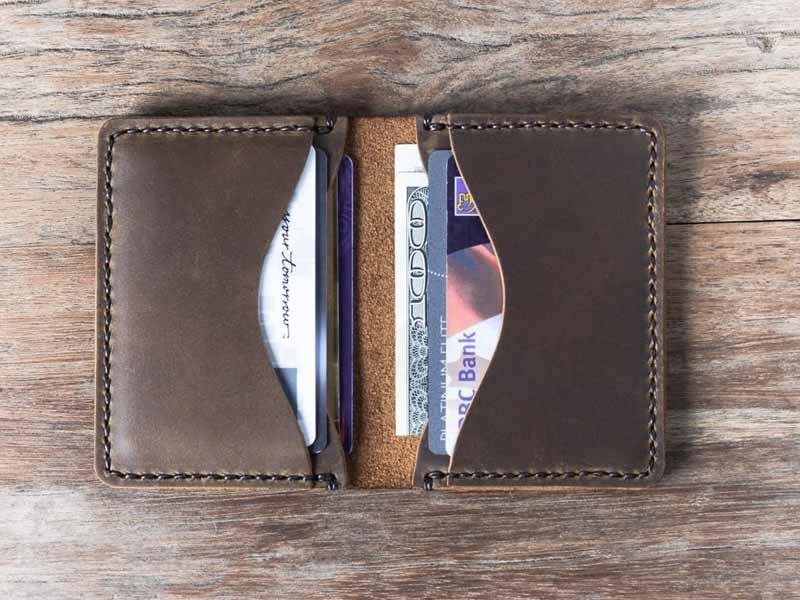 Minimalist Credit Card Holder Wallet - Gifts For Men