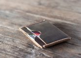 Slim credit card wallet for men