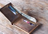 bifold leather  wallet for Men