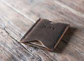 creadit card leather wallet for men
