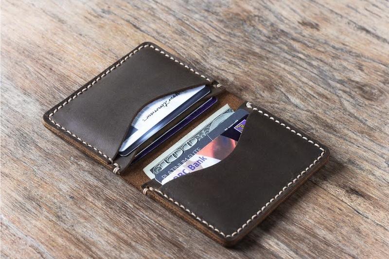 minimalist credit card holder wallet  gifts for men