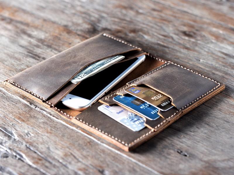 Custom Iphone 6 Leather Wallets For Men And Women Gifts