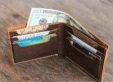 leather Bifold Wallet for Men