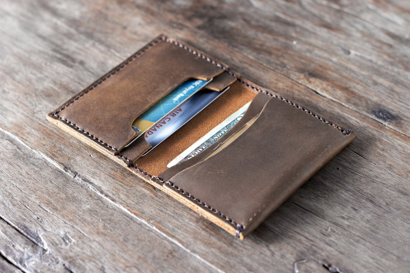 RFID Leather Trifold Wallets for Men - Handmade Mens Wallet Credit Card Holder with ID Window and Gift Box. $ $ 10 99 Prime. out of 5 stars Clifton Heritage. [NOTE]The leather credit card holder should not be exposed directly Alpine Swiss Genuine Leather Thin Business Card Case Minimalist Wallet.