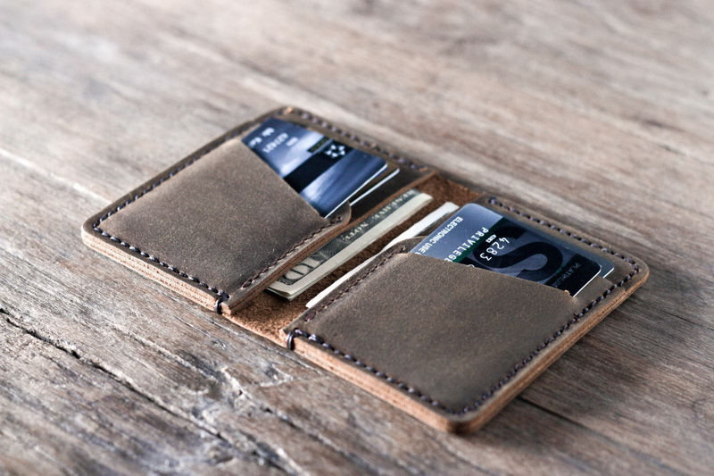 2e9213bf0769 Personalized Front Pocket Credit Card Holder Wallet - Gifts For Men