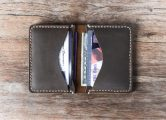 leather credit card wallet for men