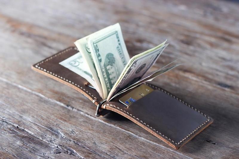 Personalized Money Clip Men S Slim Wallet Gifts For Men