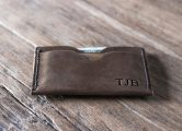 mens Slim leather wallet