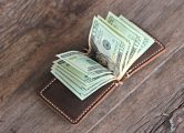 mens money clip wallet