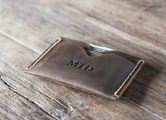 minimalist men's slim wallet