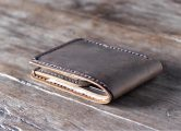 slim bifold wallet