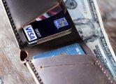 slim bifold wallet for men