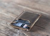 slim leather wallet for men