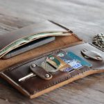 Leather Passport Holder - Stylish Travel Wallet with Passport Case