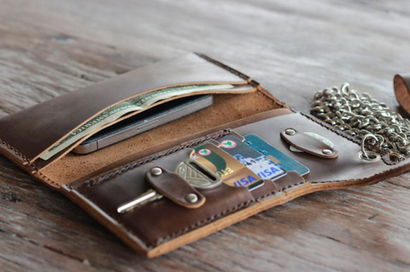 Leather Passport Holder - Stylish Travel Wallet with Passport Case
