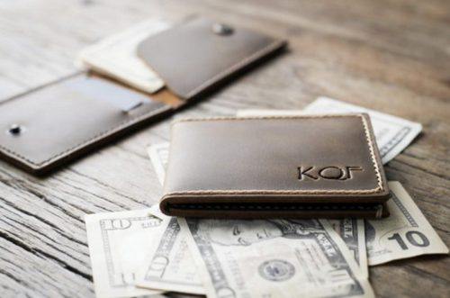 Stylish and Slim Leather Wallet  For Men