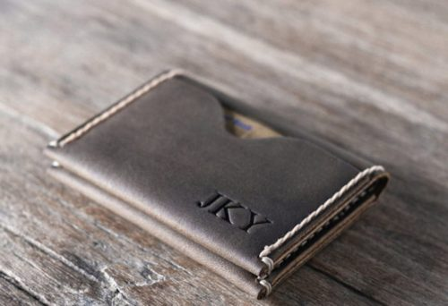 Minimalist Credit Card Leather Wallet for Men