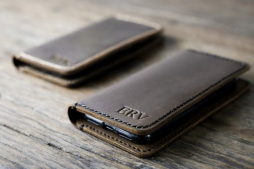 iPhone 7 Personalized Leather Wallet