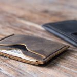 Inside Out Mens Leather Wallet