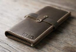 Personalized Leather Case for iPhone 6 Plus