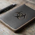 BioHazard Leather Notebook Journal
