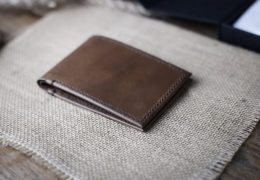 Super Slim Leather Bifold Wallet